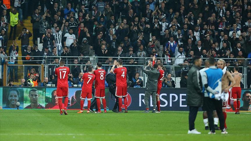 Bayern Munich knocks Besiktas out of Champions League