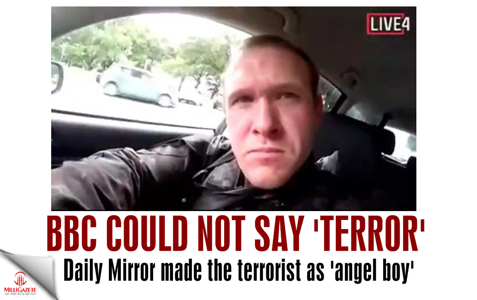 "BBC could not say ""terror""; Daily Mirror made the terrorist as angel boy"