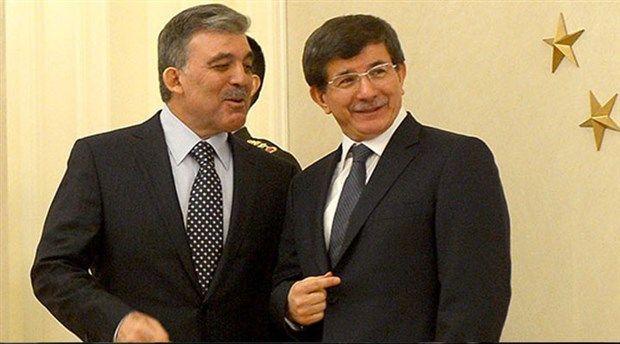Behind the scenes! Ahmet Davutoglu meets Abdullah Gul
