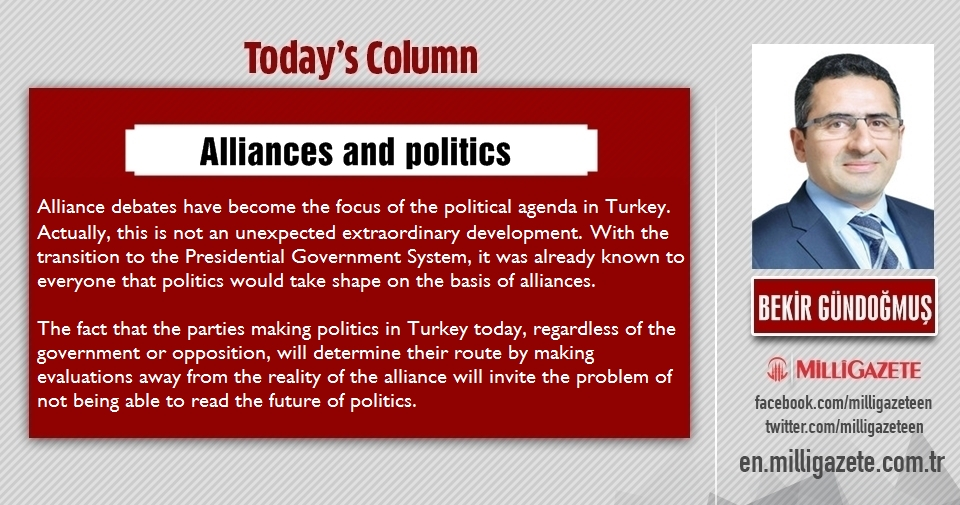"Bekir Bündoğmuş: ""Alliances and politics"""