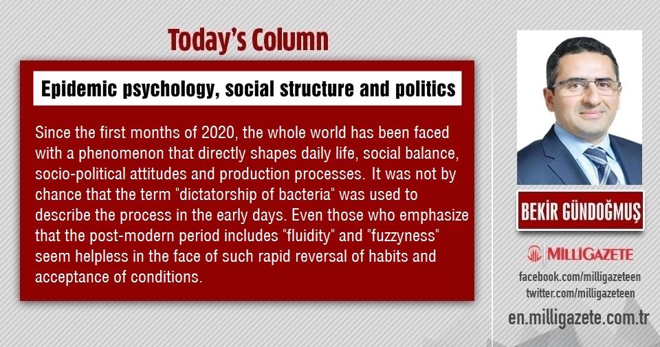 "Bekir Bündoğmuş: ""Outbreak psychology, social structure and politics"""