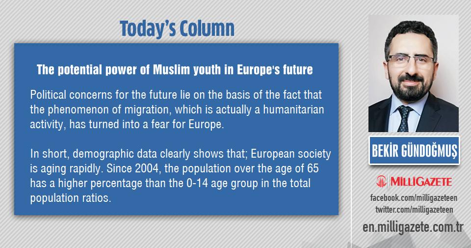 "Bekir Bündoğmuş: ""The potential power of Muslim youth in Europes future"""