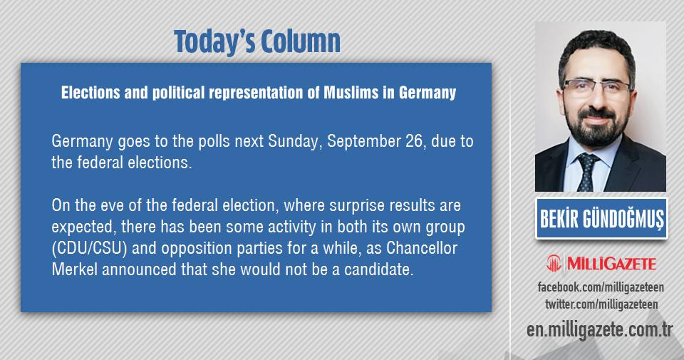 "Bekir Gündoğmuş: ""Elections and political representation of Muslims in Germany"""