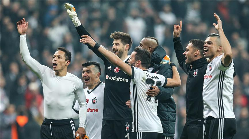 Besiktas advance to Champions League's Round of 16