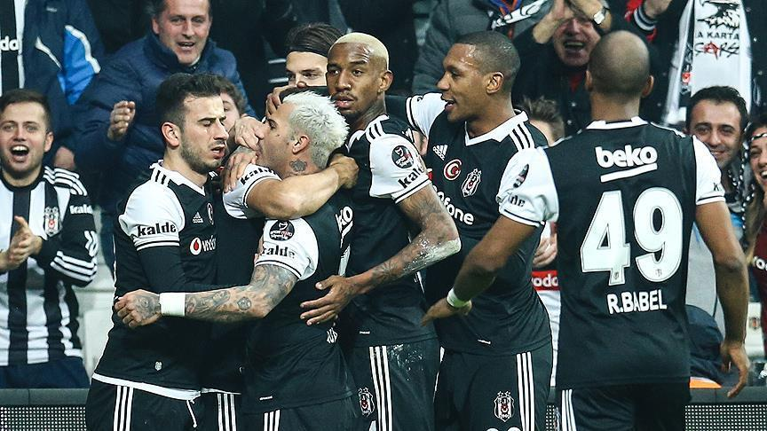 Besiktas at the top of Turkish Super League