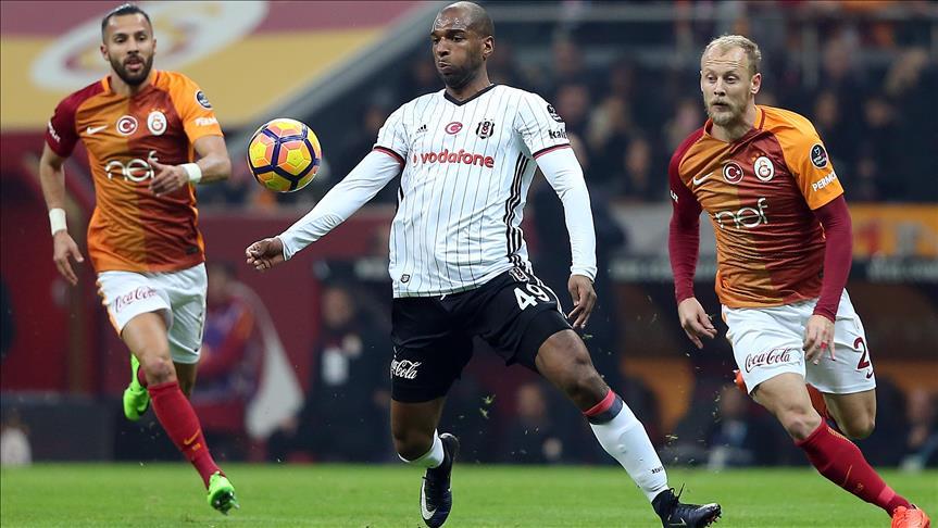 Besiktas beat Galatasaray in Istanbul derby