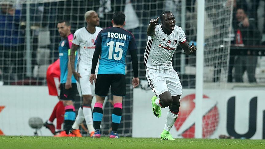 Besiktas beats Israel's Hapoel Beer Sheva 2-1 in Europa League