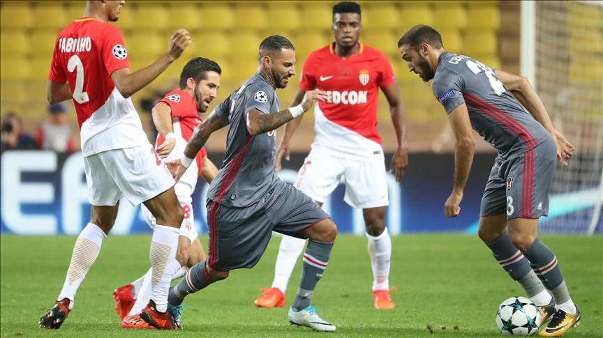 Besiktas beats Monaco in Champions League