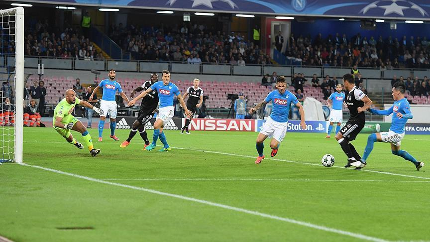Besiktas beats Napoli in Champions League