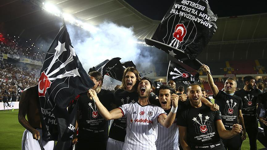 Besiktas claim 15th Turkish league title
