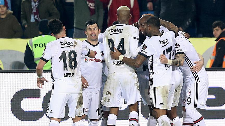 Besiktas defeat Trabzonspor 2-0 in Super league