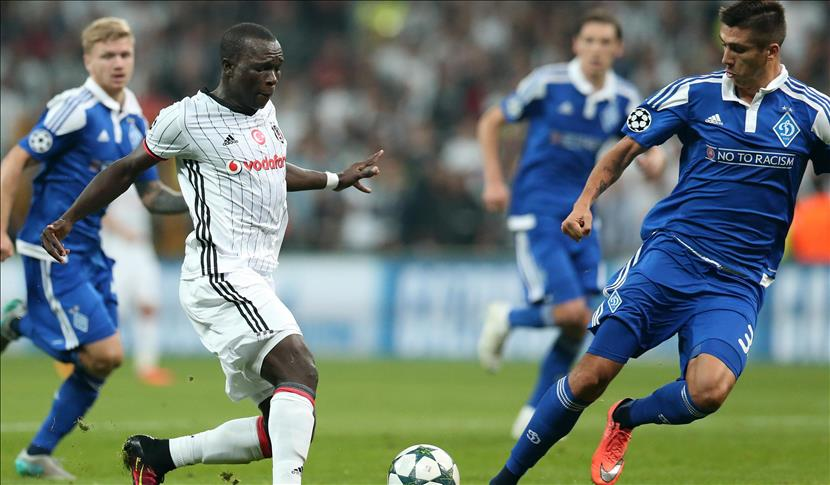 Besiktas, Dynamo Kyiv play to draw in Champions League