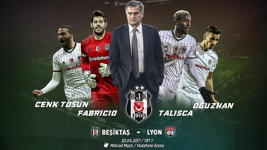 Besiktas eyes first semifinal showing in Europa League