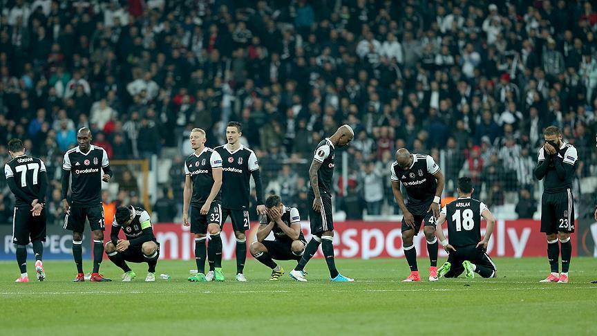 Besiktas fails to advance to UEFA Europa League semis