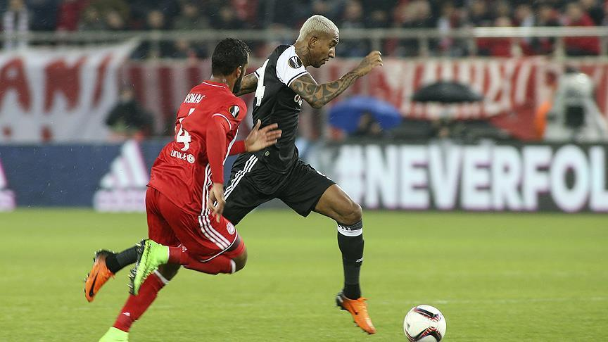 Besiktas, Olympiacos draw 1-1 in Europa League