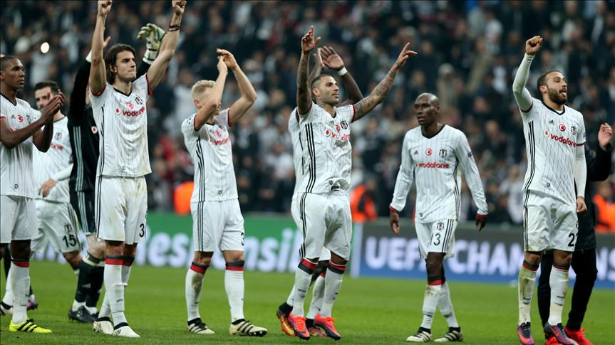 Besiktas pull off historic comeback