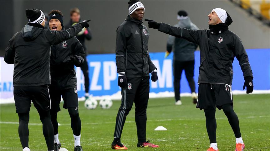 Besiktas ready to clash with Dynamo Kiev