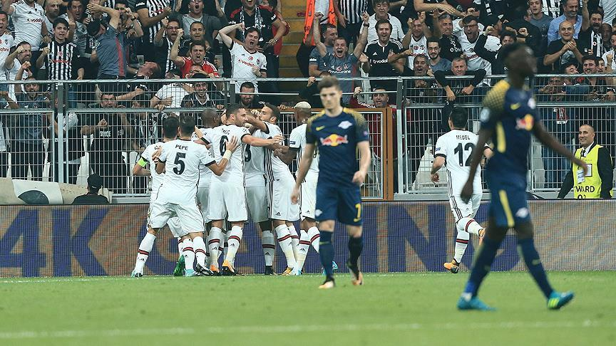 Besiktas stays perfect in Champions League