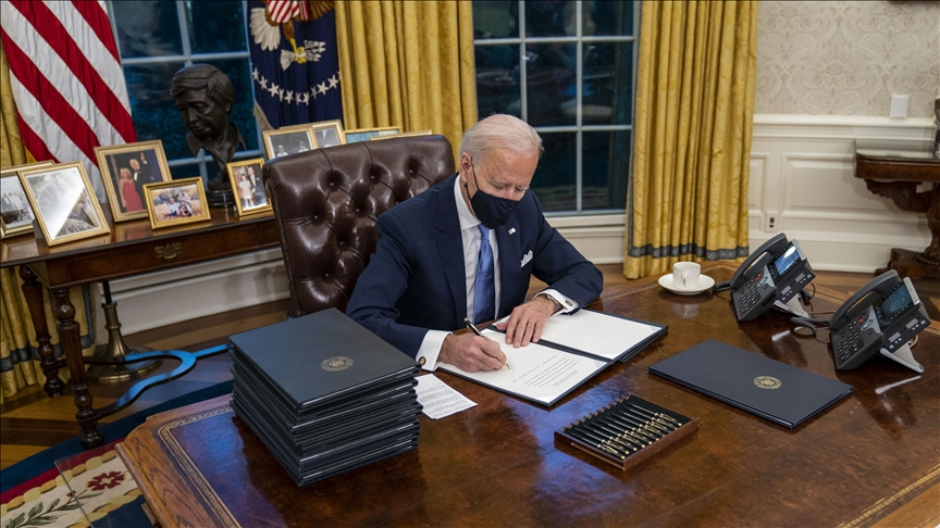 Biden ends travel ban on Muslim countries