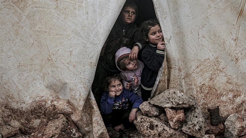 Breaking point: Babies freezing to death amid Idlib push