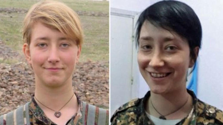 British woman who joined YPG terrorists killed in Syria's Afrin
