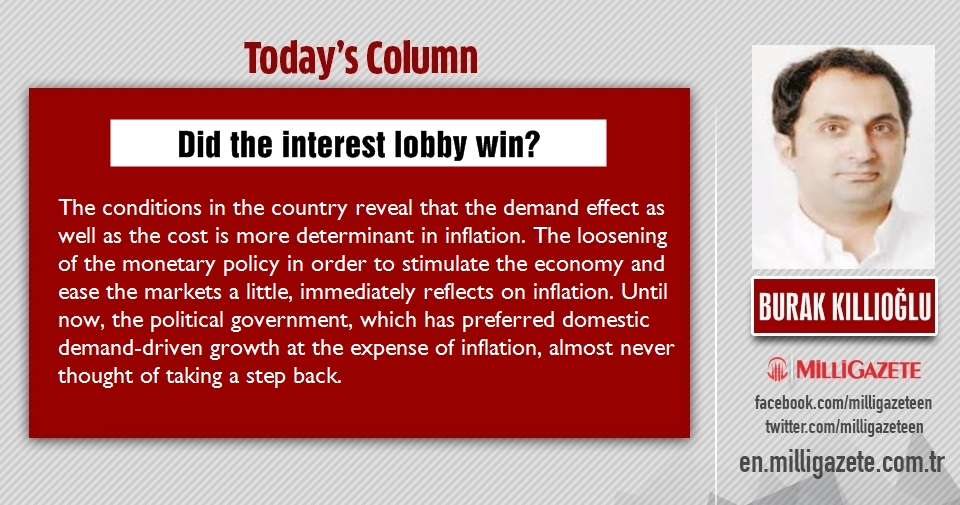 "Burak Kıllıoğlu: ""Did the interest lobby win?"""