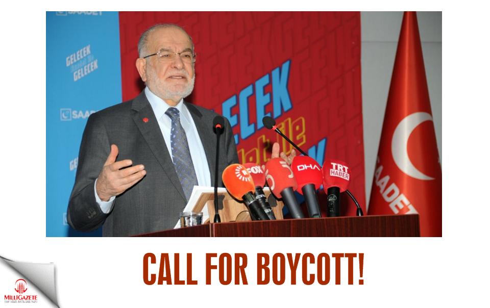 Call for boycott!