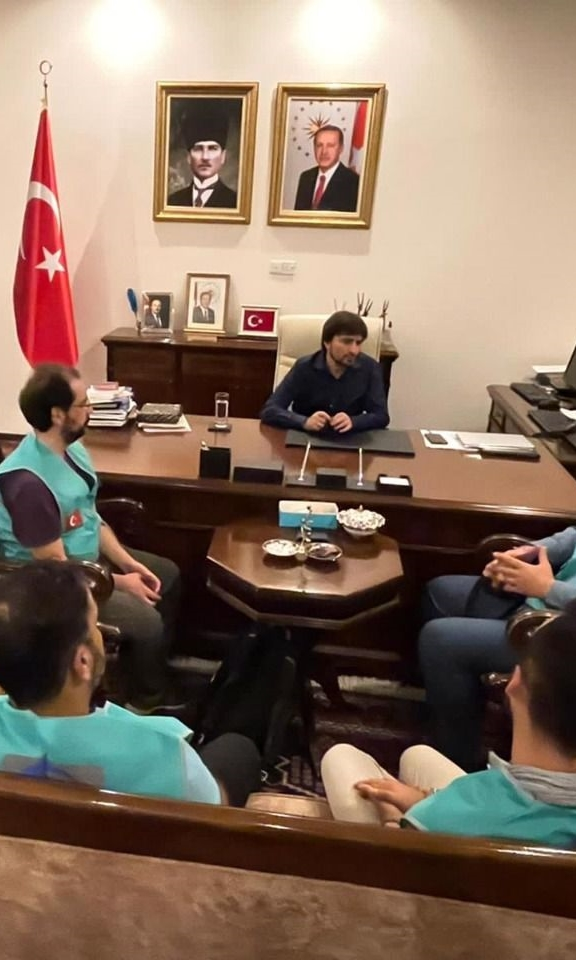 Cansuyu teams visit the Turkish ambassador in Tanzania