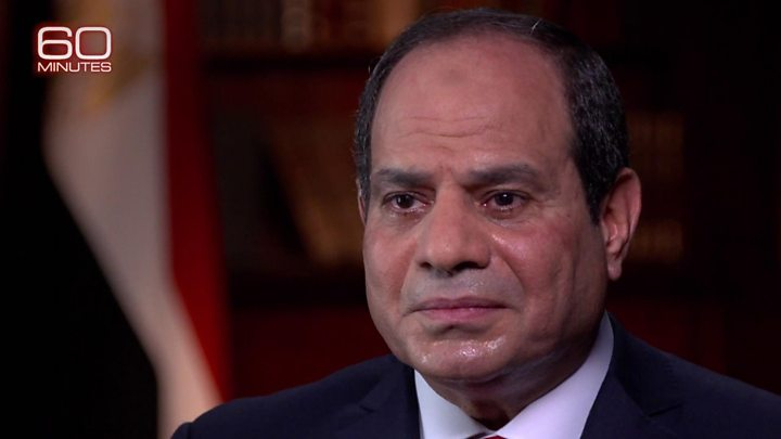 CBS broadcasts Sisi interview despite Egypt request not to air it