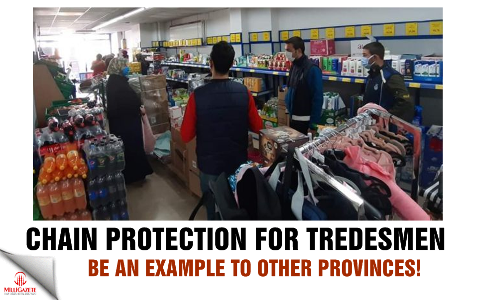 Chain protection for tradesmen, be an example to other provinces!