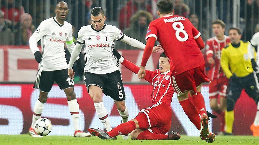 Champions League: Bayern dominates Besiktas in 5-0 rout