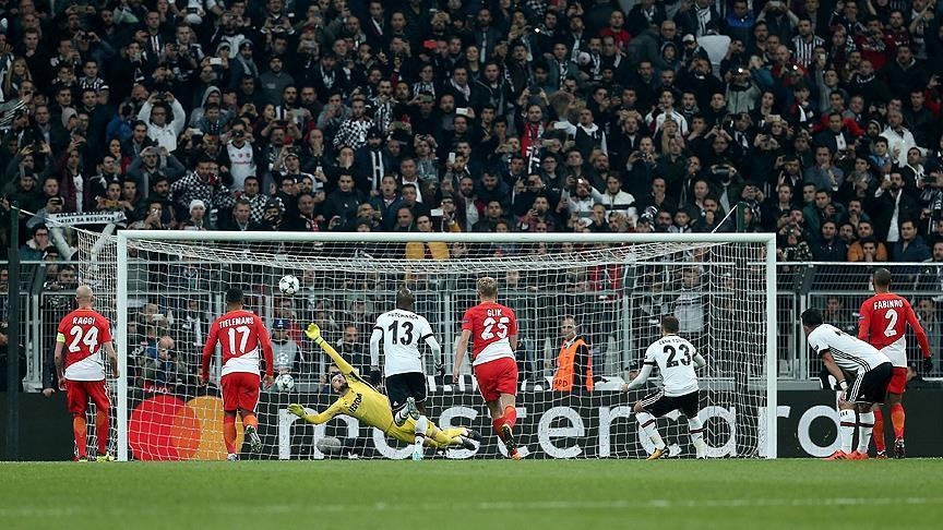 Champions League: Besiktas draw 1-1 against Monaco