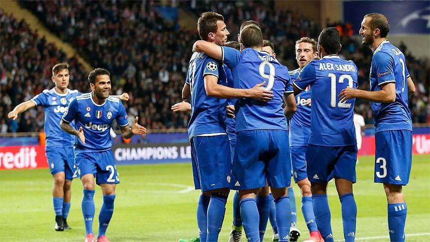 Champions League: Juventus win 2-0 in Monaco