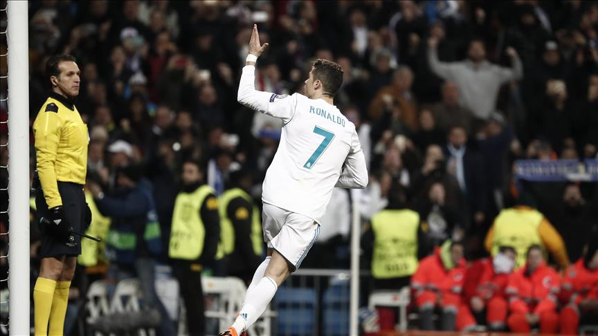 Champions League: Real Madrid topple Paris 3-1 at home