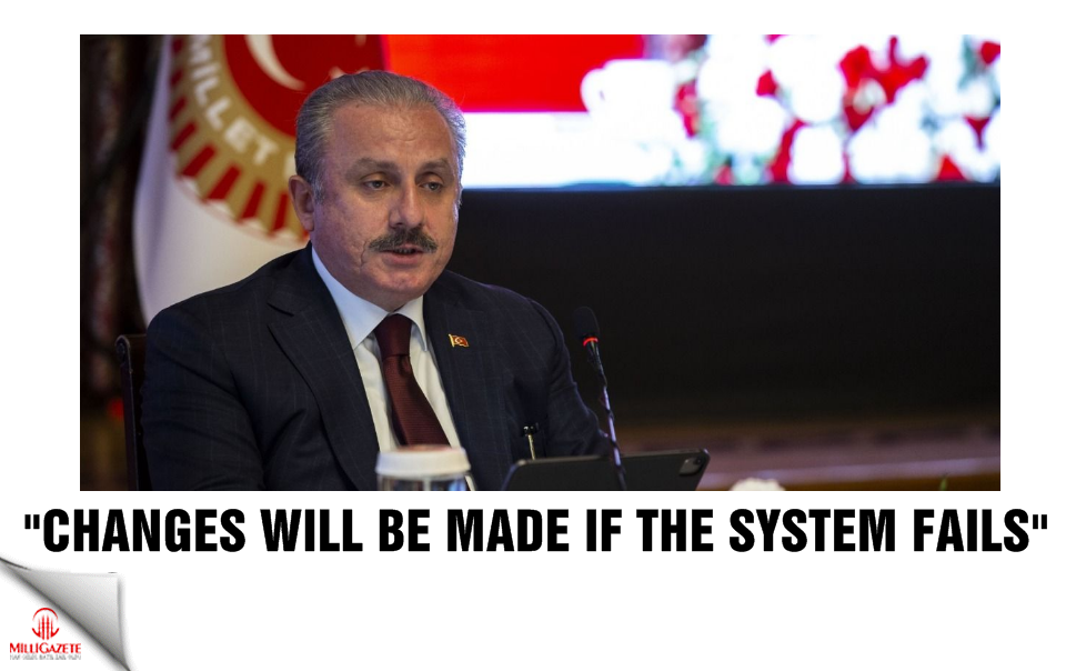 """""""Changes will be made if the system fails"""""""