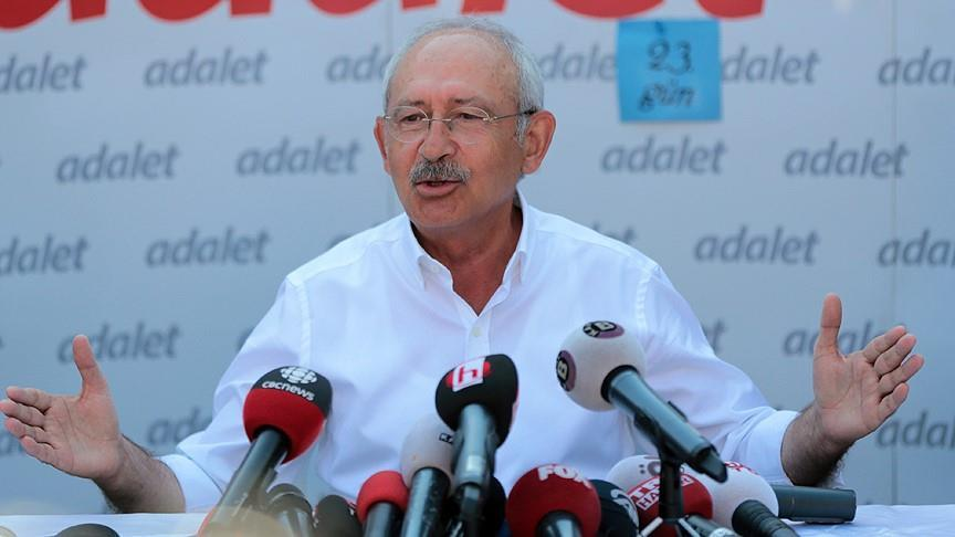 Chp leader Kilicdaroglu calls on EU to maintain talks