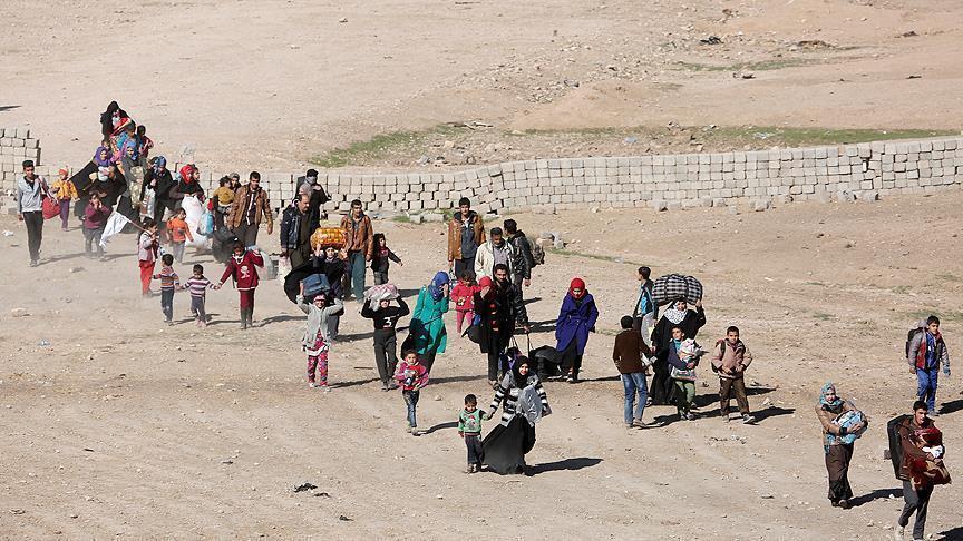 Civilians evacuated from Mosul amid anti-Daesh operation