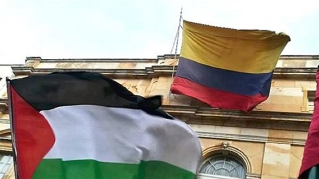 Columbia recognized independence of Palestine