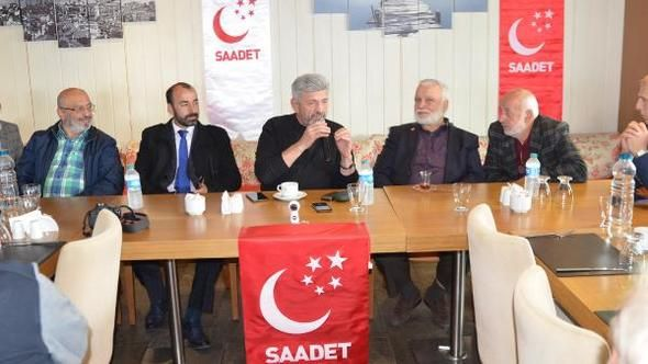 Conference blocking to Saadet Party Deputy Islam