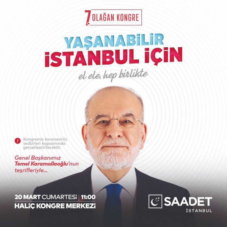 Congress excitement in Saadet Istanbul