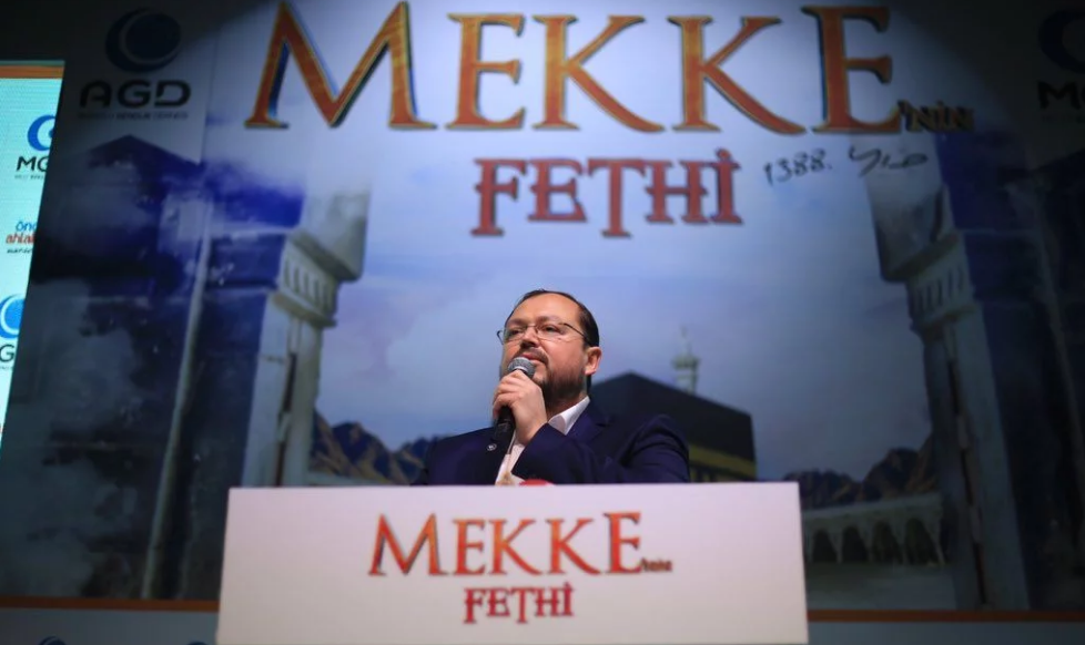 Conquest of Mecca celebrated across Turkey