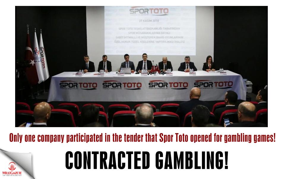 Contracted gambling!