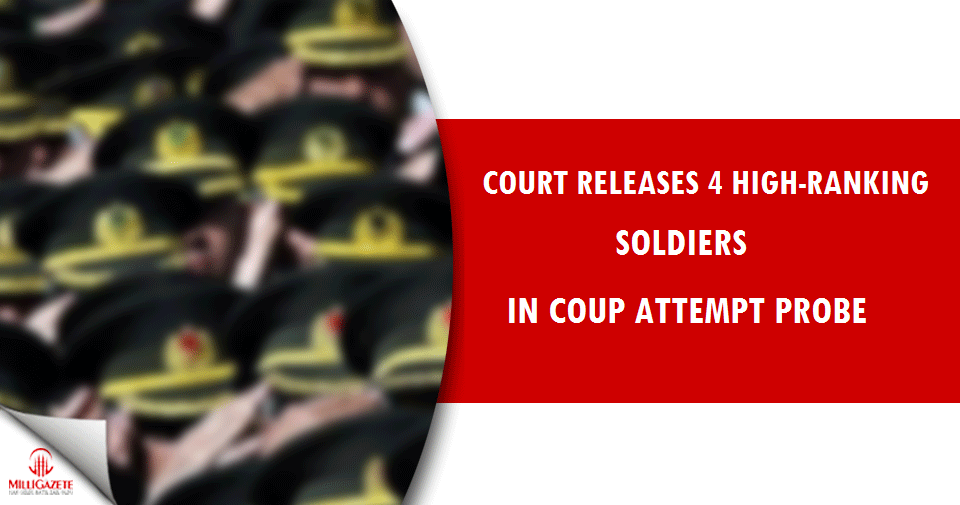 Court releases four high-ranking soldiers in coup attempt probe