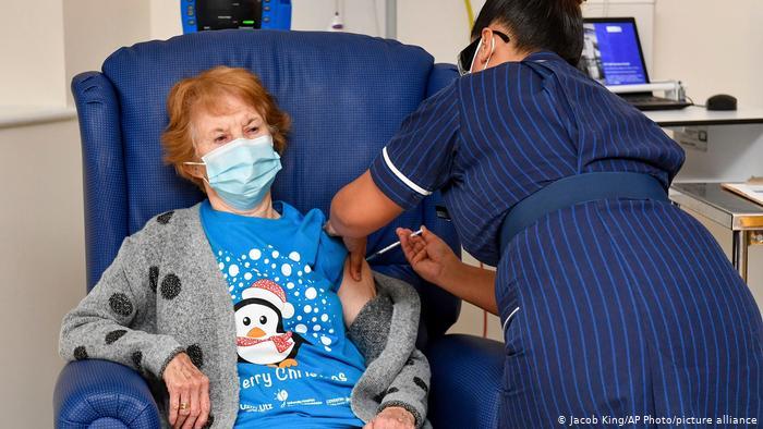 COVID-19: U.K. vaccination program begins
