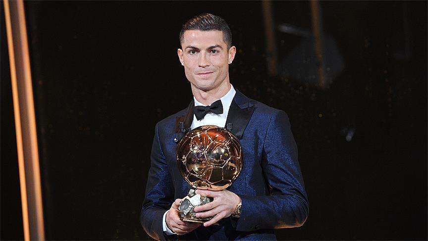 Cristiano Ronaldo wins his 5th Ballon d'Or