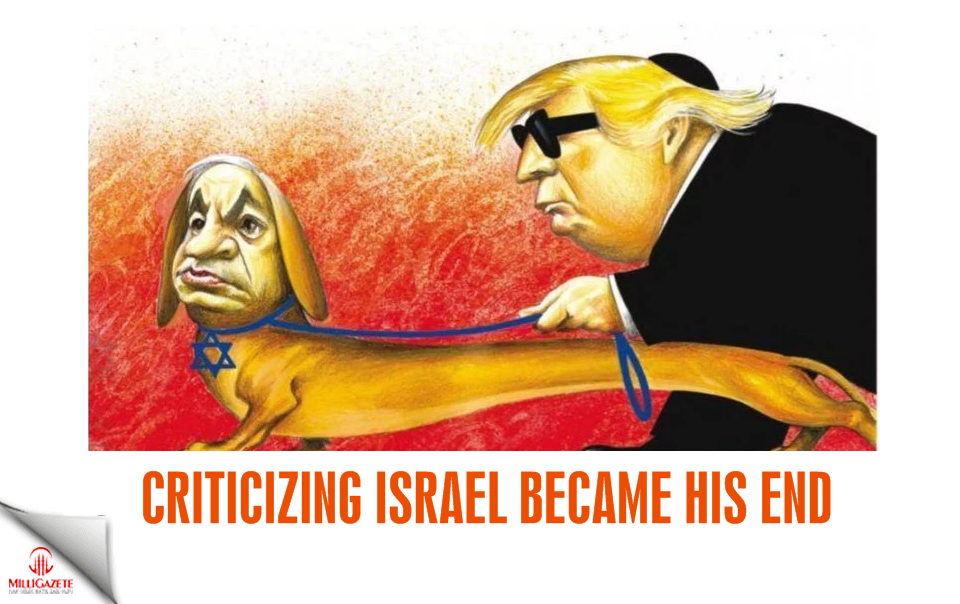 Criticizing Israel became his end