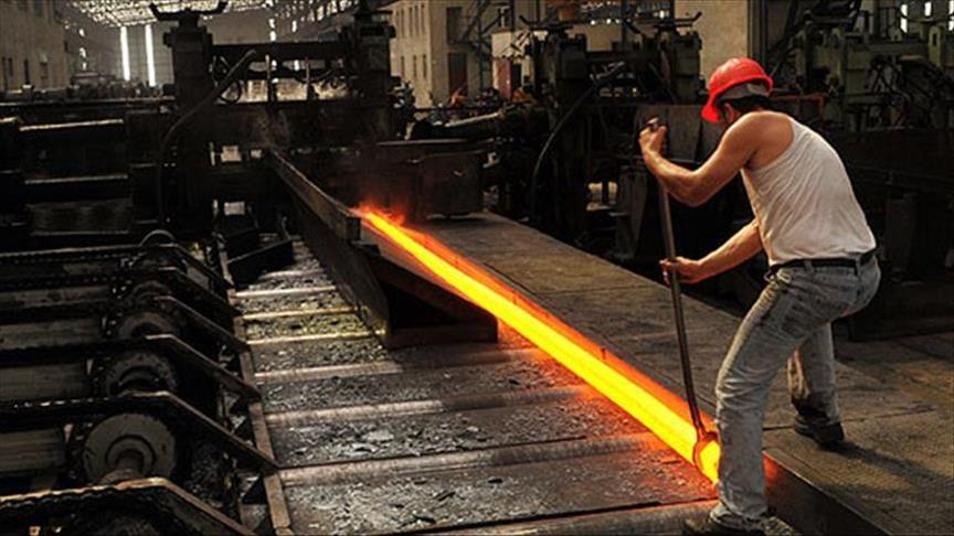 Crude steel production increases in Turkey