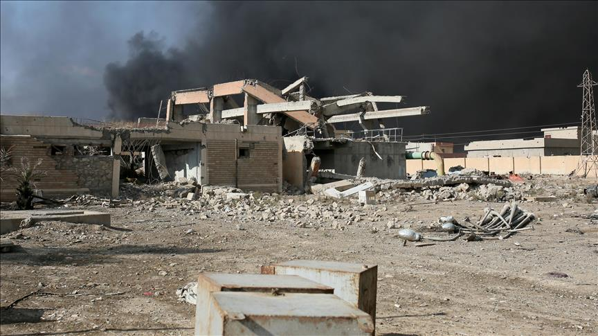 Daesh militants blow up government buildings in Iraq's Anbar