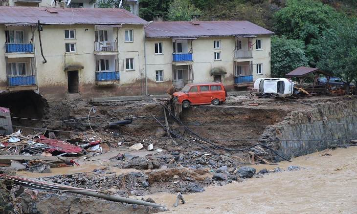 Death toll from floods in Turkey's Giresun rises to 5