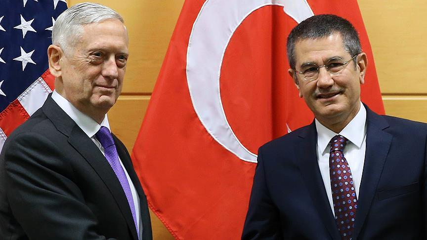 Defense Minister Canikli set to talk to U.S. counterpart in Brussels